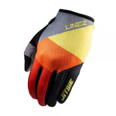 M Jitsie kesztyű  G2 Linez szürke/sárga/piros