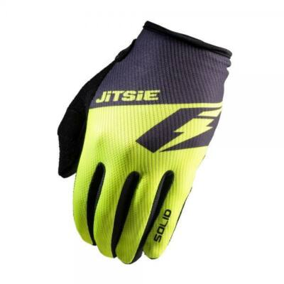 L Jitsie kesztyű  G2 Solid neon sárga/fekete